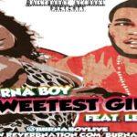 Burna Boy :Sweetest Girl feat. LeriQ