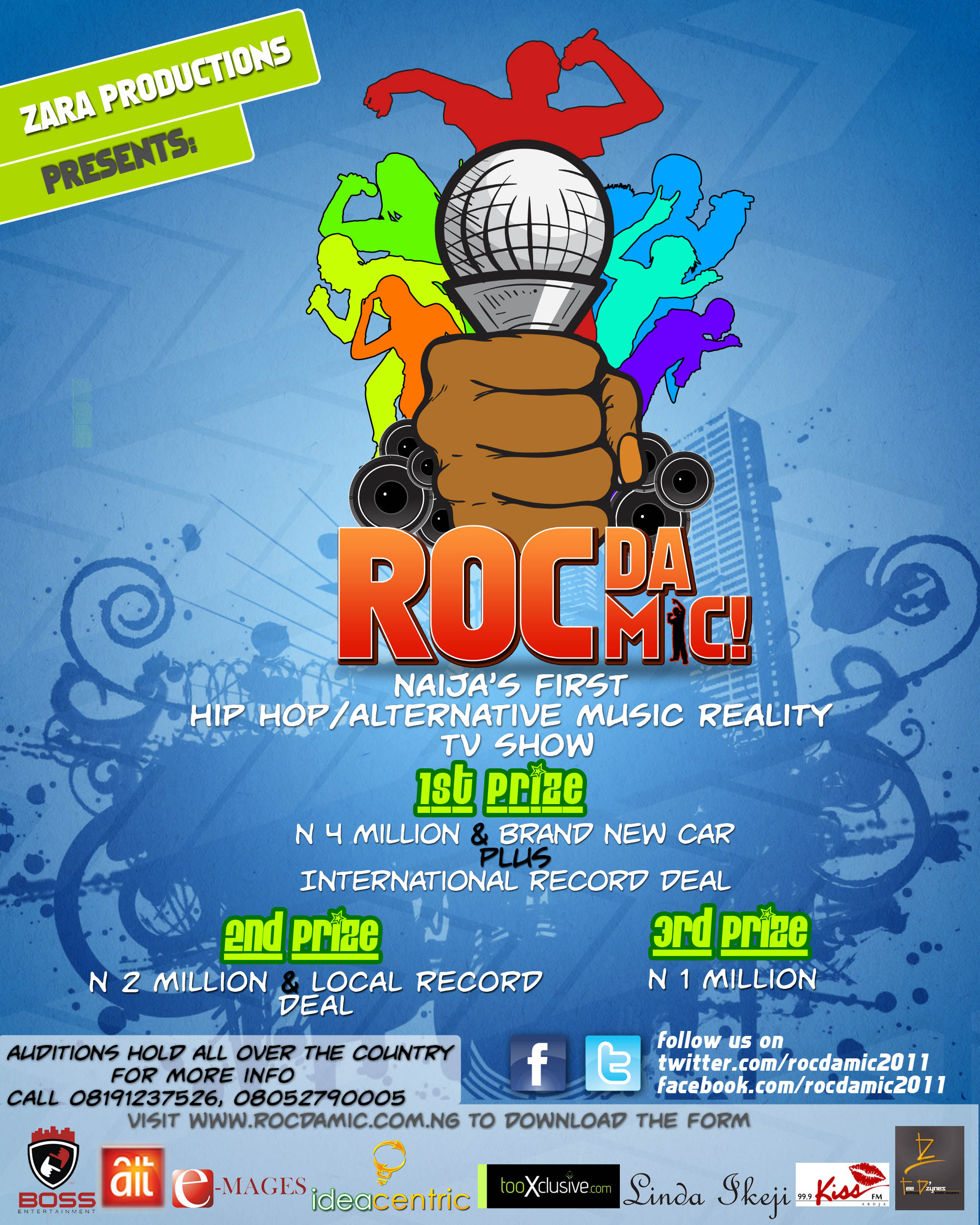 Roc Da Mic poster21 Roc Da Mic Competition   WIN Over 40,000 US Dollars Roc Da Mic Competition