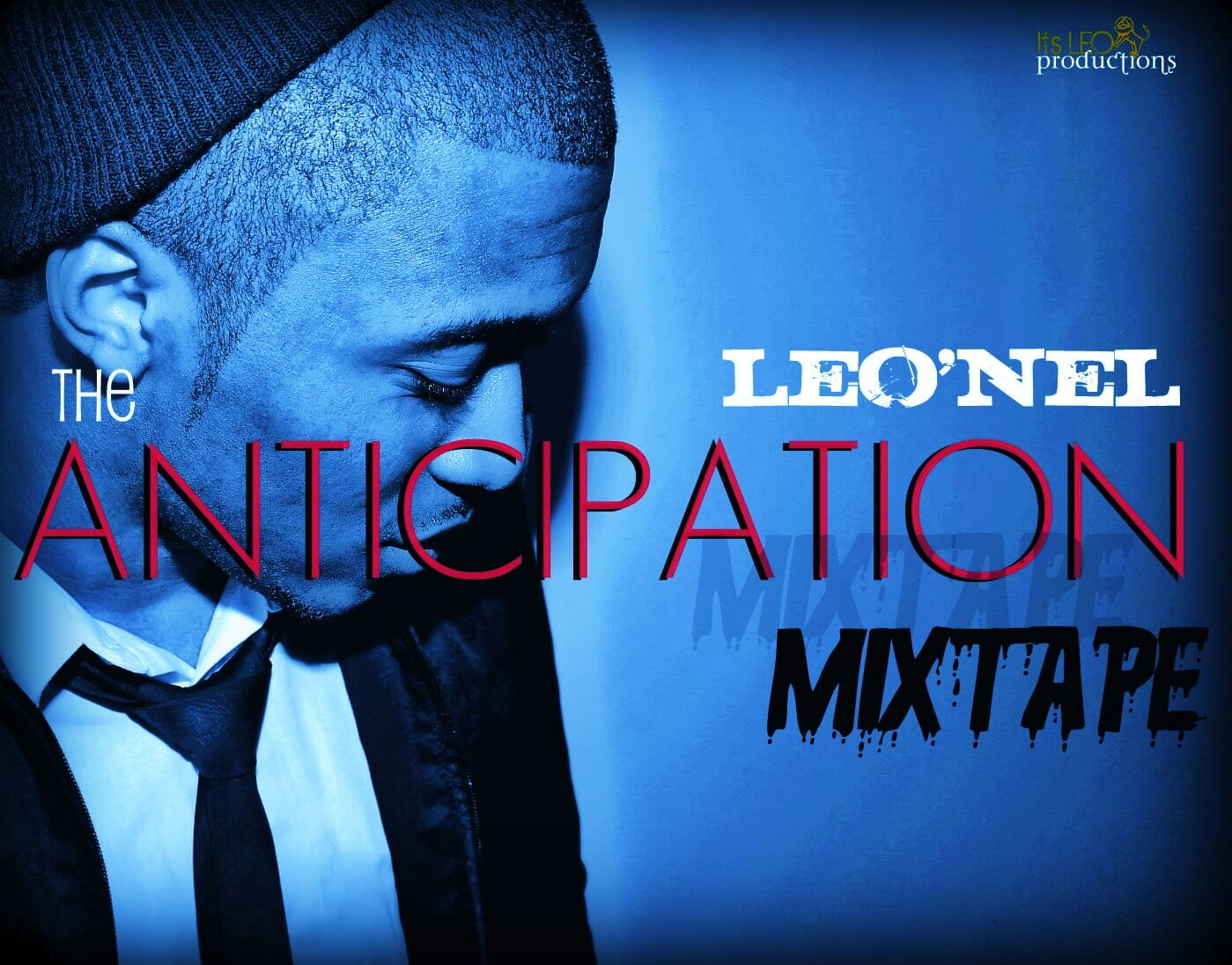 THE ANTICIPATION MIXTAPE COVER ART blue