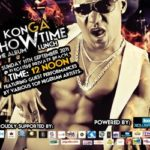 "WIN VIP Tickets :KONGA'S ALBUM LAUNCH titled ""SHOWTIME"""