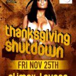 Thanksgiving Shutdown – Friday November 25TH