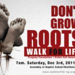 VIDEO: M.I, Loose Kaynon, Mo'Cheddah, Davido, Brymo, Tony Payne… Endorse PROGENY'S SICKLE CELL Walk For Life… 3rd December 2011