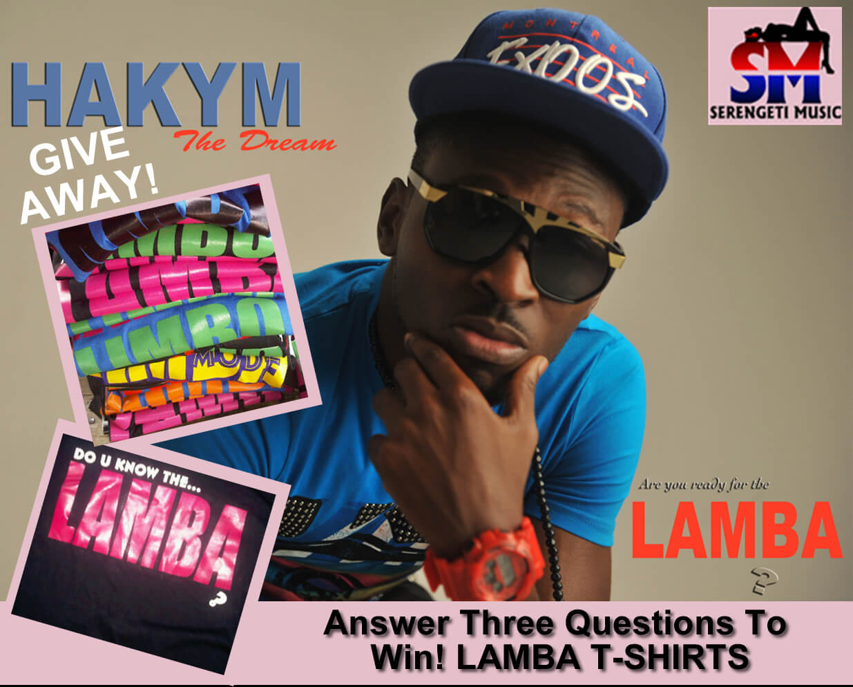 hakym lamba give away