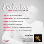 DOWNLOAD :YemiSax – Exclusives Vo 1