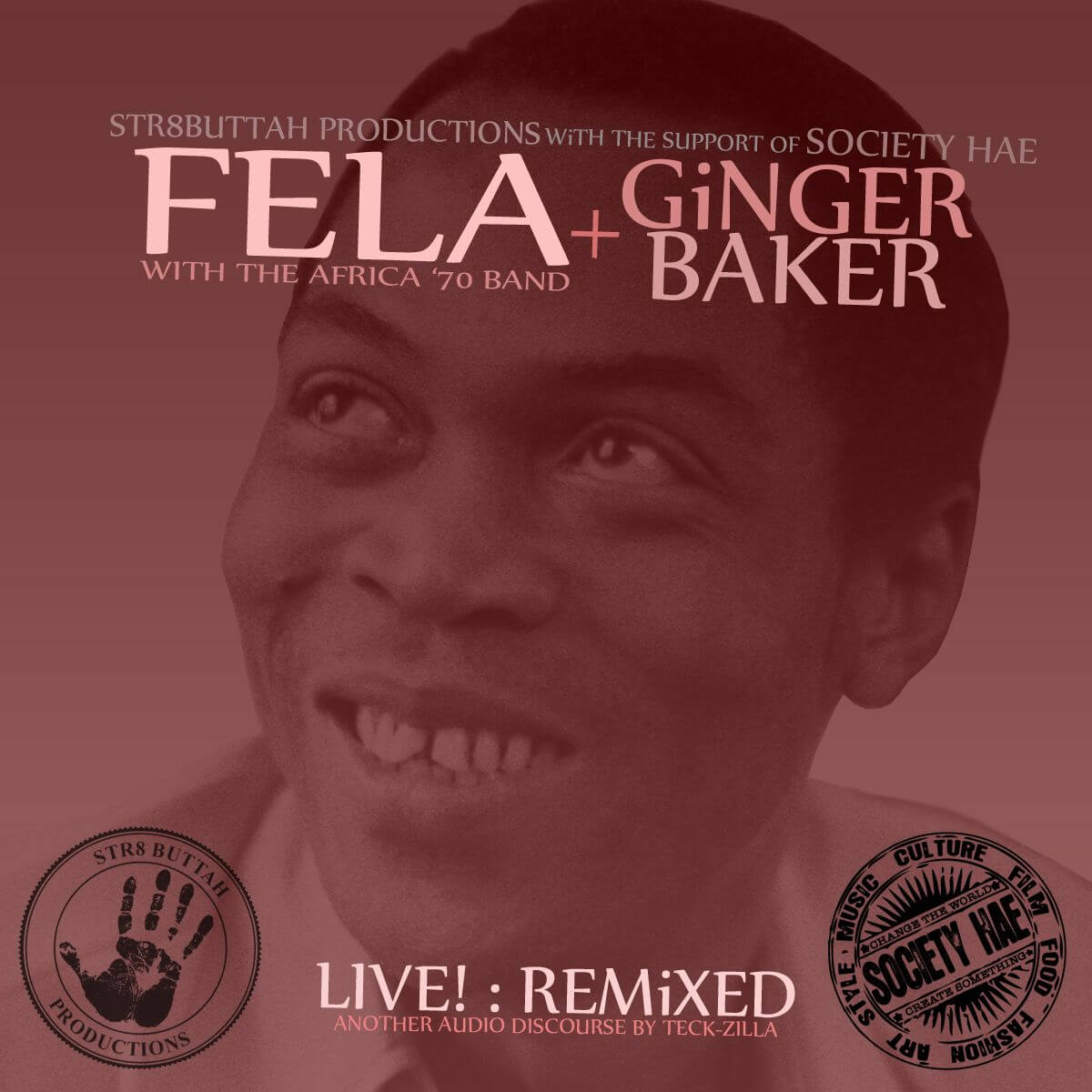 DOWNLOAD: Fela Kuti + Ginger Baker: LIVE! Remixed « tooXclusive