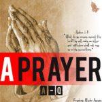 A-Q – A Prayer