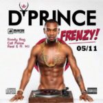 """D'Prince """"FRENZY"""" Track Listing"""