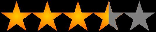 3.5-stars [Chorus eader Rating]