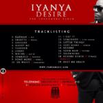 NEWS: Official Tracklisting For Iyanya's Sophomore Album [Iyanya vs Desire]