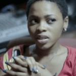 "VIDEO: Chidinma Recording ""Emi Ni Baller Remix"" With Wizkid"