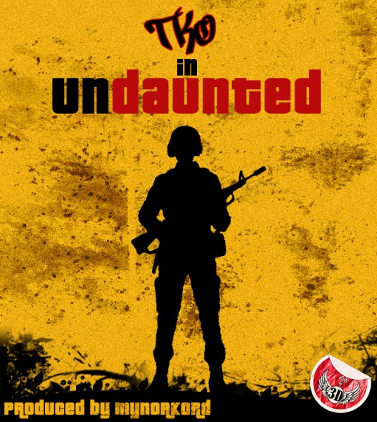 T.K.O-UNDAUNTED-prod.-by-MynorKord-Artwork
