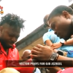 VIDEO: Vector Prays For OJB | OJB Speaks On His Condition