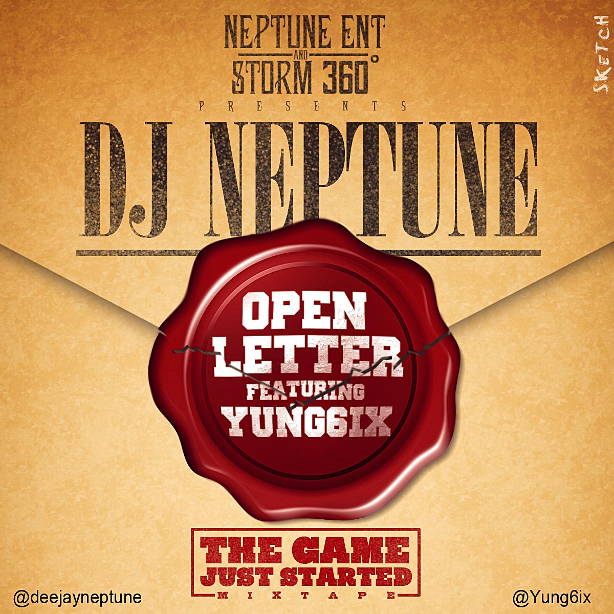 DJ Neptune Open Letter(Cover)