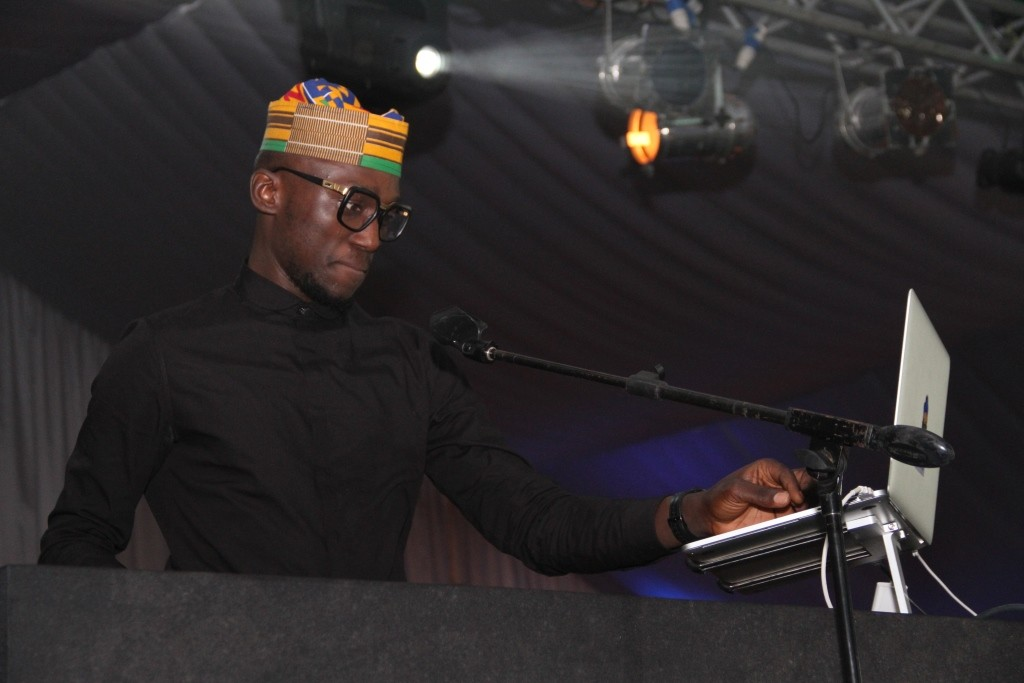 DJ Spinall on the wheels of steel