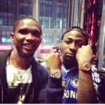 VIDEO: Davido and Samuel Eto'o dancing to Skelewu