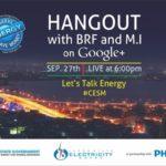 Gov Fashola and MI live G+ Hangout