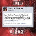 Yung6ix – One Tweet