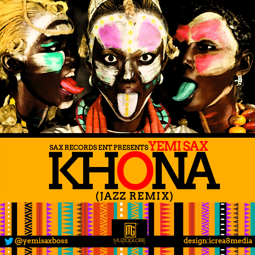 yemi sax khona jazz remix artwork SR