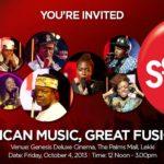 MUSIC UTOPIA! KING SUNNY ADE, SALIF KEITA, M.I, WAJE, BEZ AND MORE STAR IN 'COKE STUDIO AFRICA'!