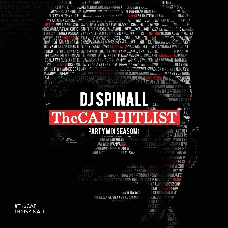 DJ Spinall TheCAP HitList Art