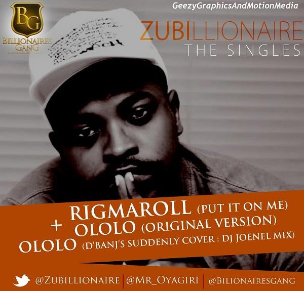 Zubillionaire - The Singles [Artwork]