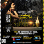 "Delectable Soundcity VJ ""ADAMS"" Hosts The Opening Party Of Club Novonia!"