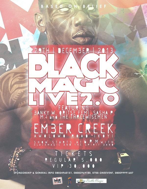 BlackMagic Live 2.0 [Poster]