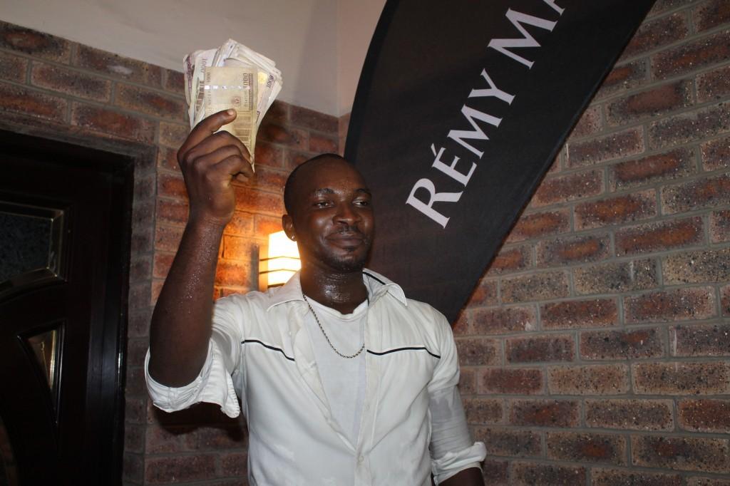 Buchi Nwakolam April winner