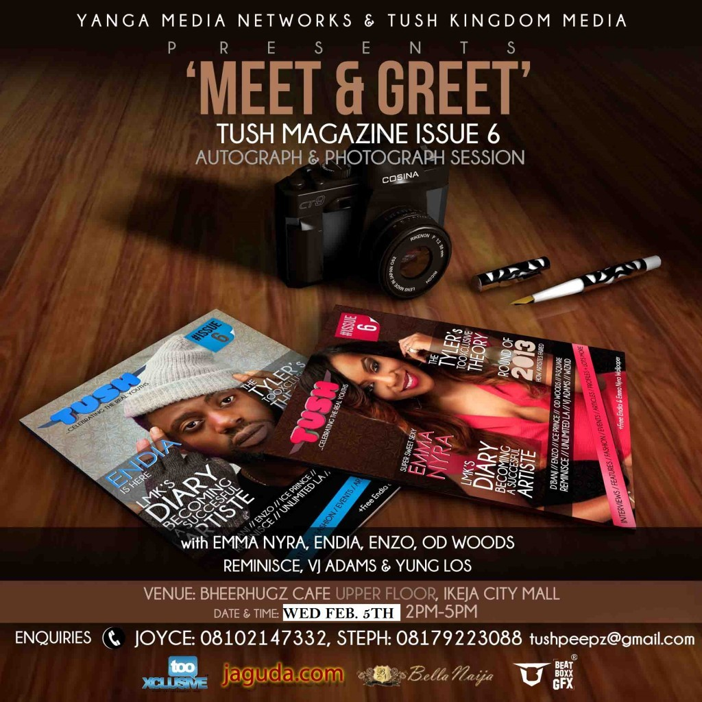 MEET AND GREET FLYER