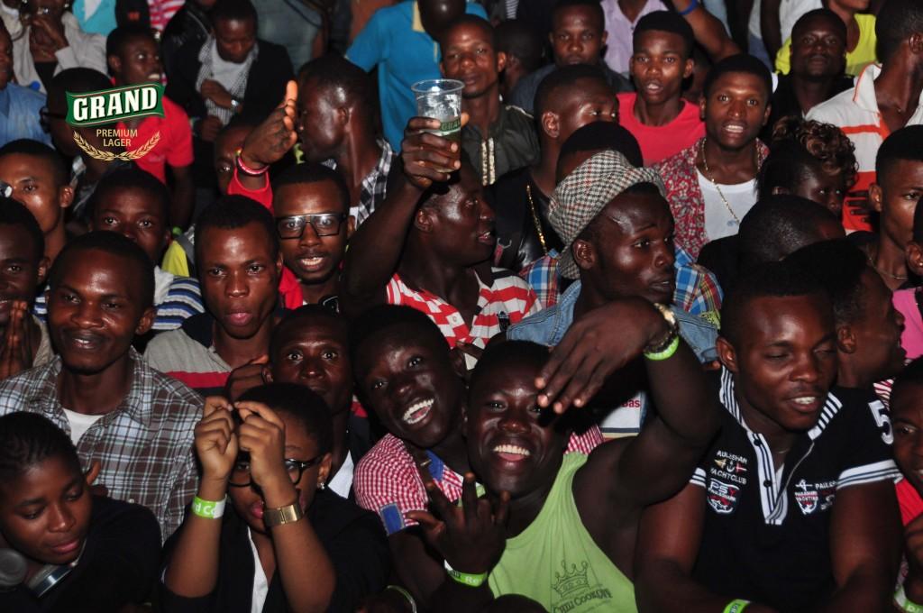 Grand Lager fans in concert