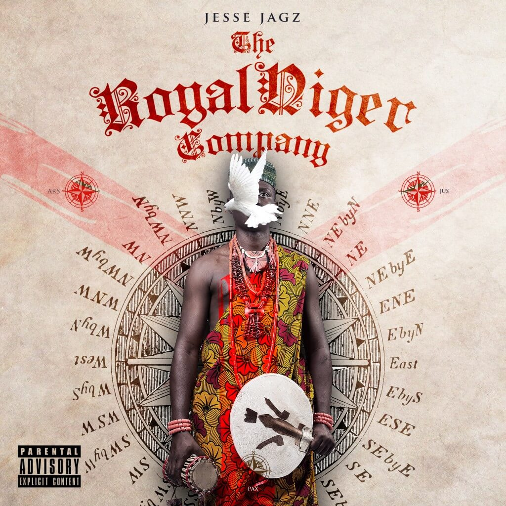Jesse Jagz - Jagz Nation Vol.2 Royal Niger Company [FRONT] _tooXclusive.com