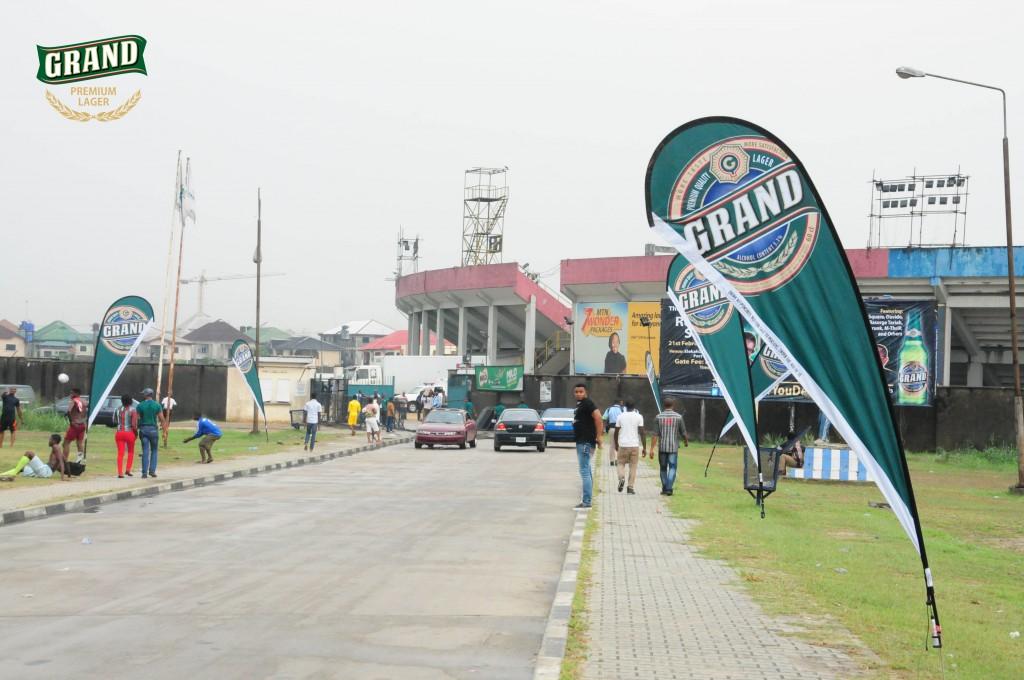 Liberation stadium, Elekahia in Port Harcourt Grand Lager