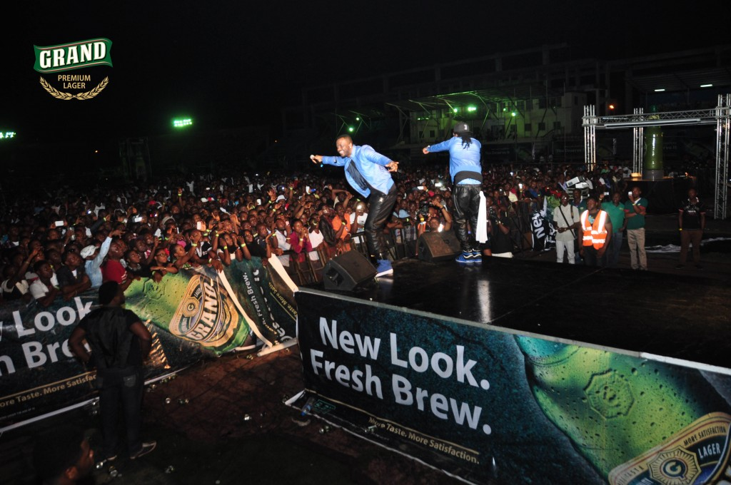 P square performing at Grand Lager concert