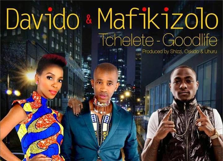Davido & Mafikizolo - Tchelete (Good Life)-ART-tooXclusive.com