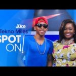 "VIDEO: Tekno on The Juice's ""Spot ON!"" (Interview + Performance)"