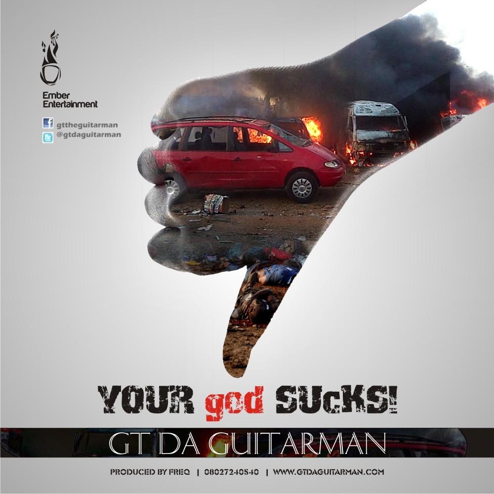 GT The Guitarman - Your god SUCKS-ART-tooXclusive.com