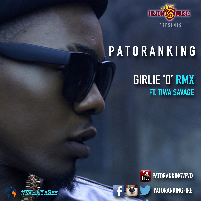 Patoranking - Girlie 'O' Remix (ft. Tiwa Savage)-ART-tooXclusive.com