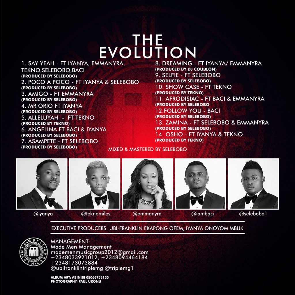 Triple MG - The Evolution -album-back-b