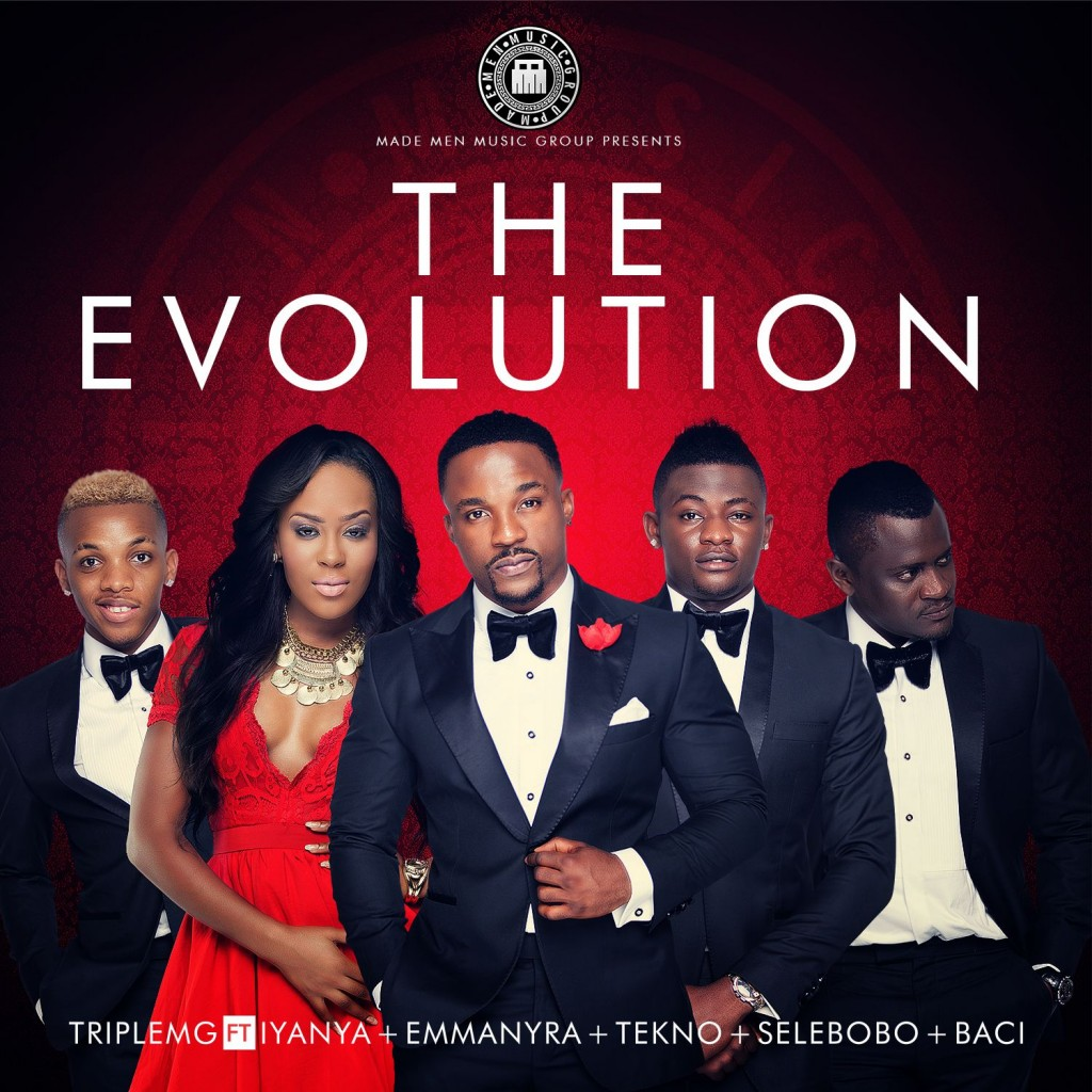 Triple MG - The Evolution -album-cover
