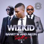 Wizkid – Roll It (Remix) ft. Akon & Banky W