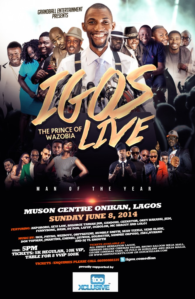 Igos Live 3 Man Of The Year Poster For TX