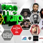 "One Mic Naija ""Music and Football"" Edition Chat With ""Jesse Jagz"" and ""BOJ"""