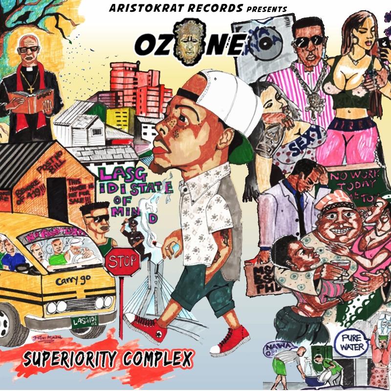 Ozone - Superiority Complex (Mixtape)-Art-tooXclusive.com