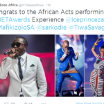 2014 BET Awards: Tiwa Savage, Ice Prince, Mafikizolo & Sarkodie to Perform at BET Experience