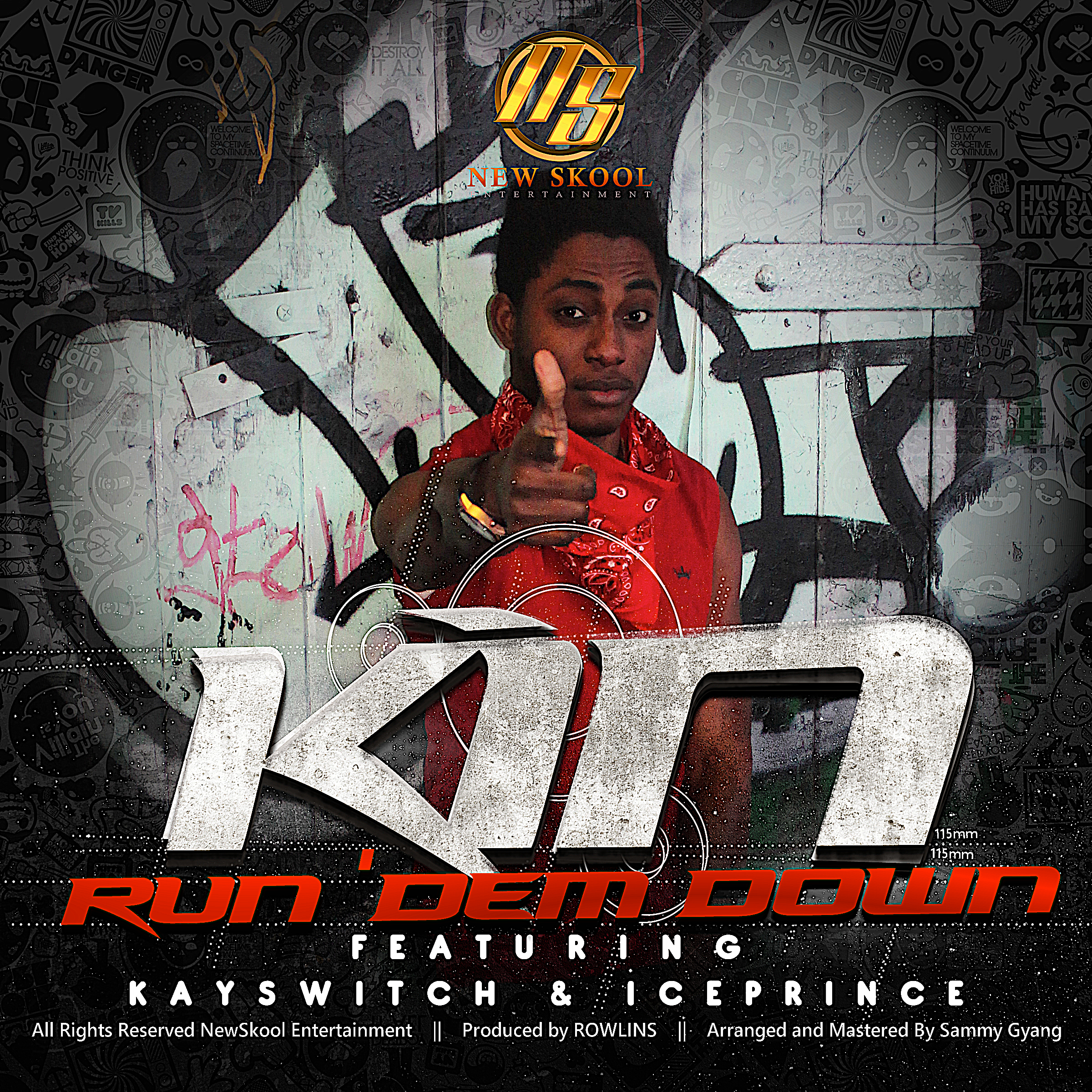 KIN-Run Dem Down-Art -tooXclusive.com