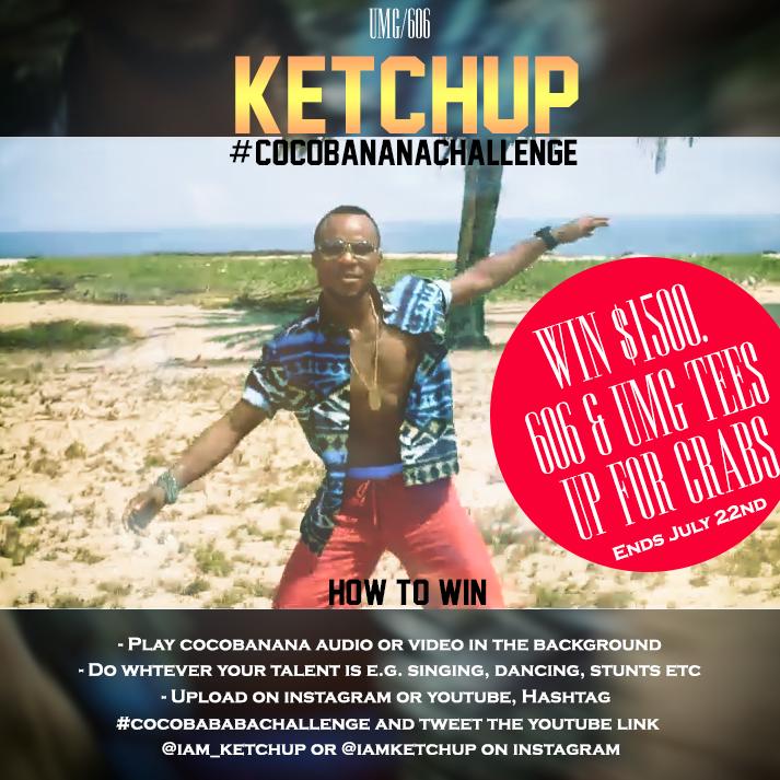 Ketchup Coco Banana Challenge