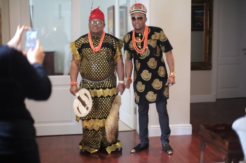 Kcee - Ogaranya ft. Davido [Video Shoot]7