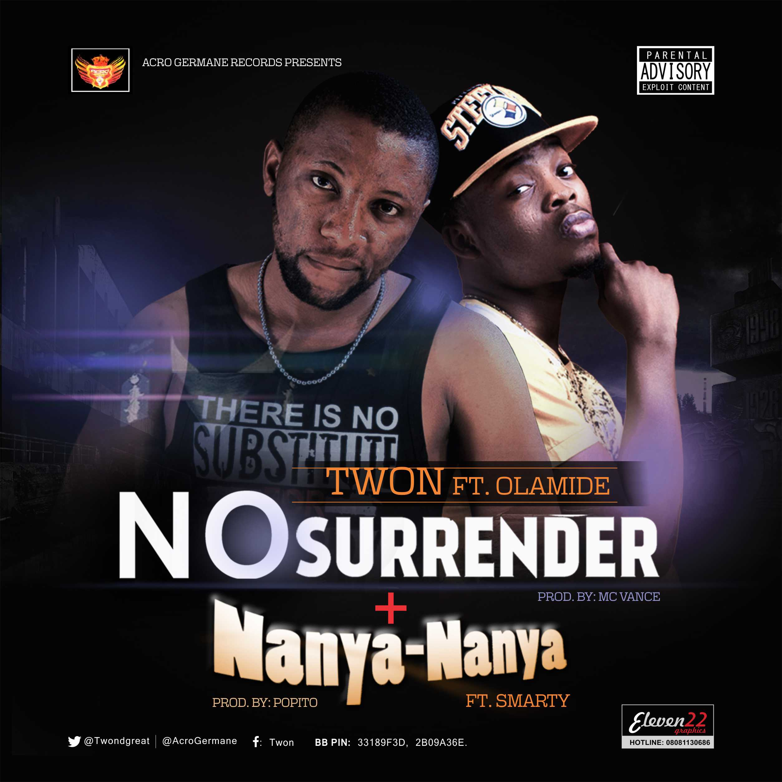 Twon - No Surrender ft. Olamide-Art-tooXclusive.com