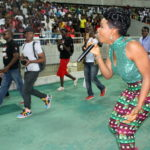 """VIDEO: Yemi Alade Thrills 50,000 Fans at """"Night of Hope"""" in Tanzania"""