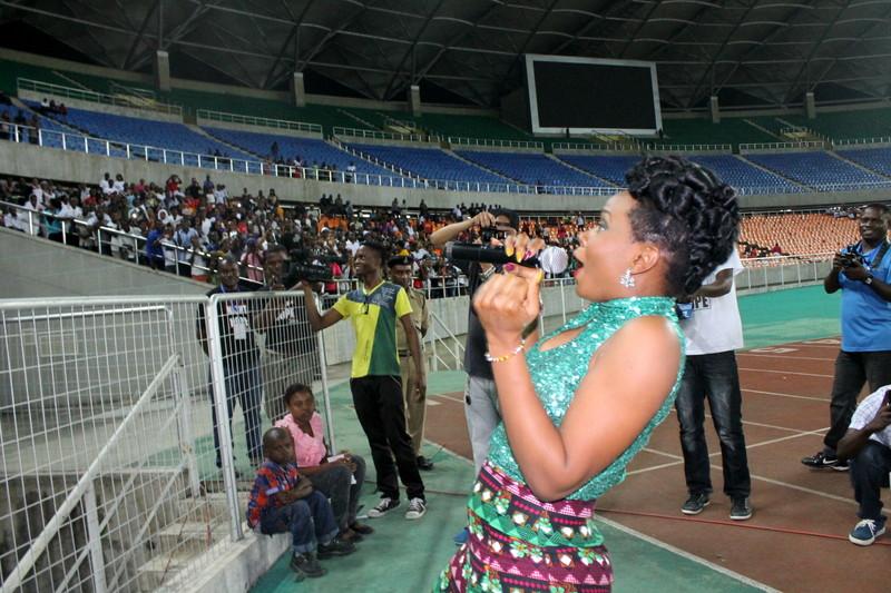 Yemi Alade in Tanzania 2